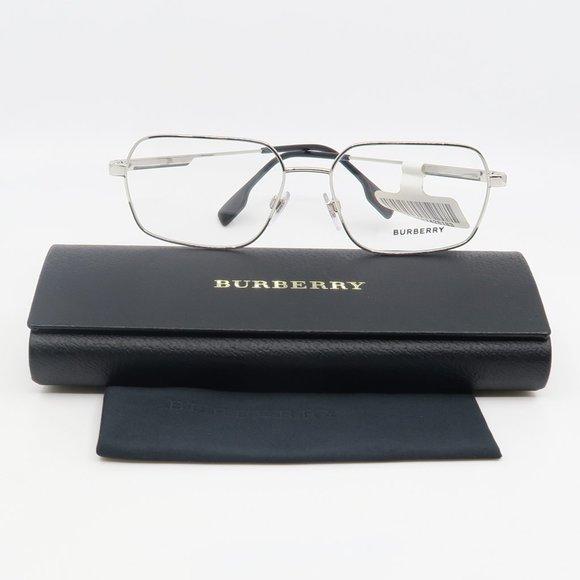 B 1356 1005 Burberry Silver Eyeglasses
